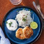 Kycklingbiffar med kokos och lime