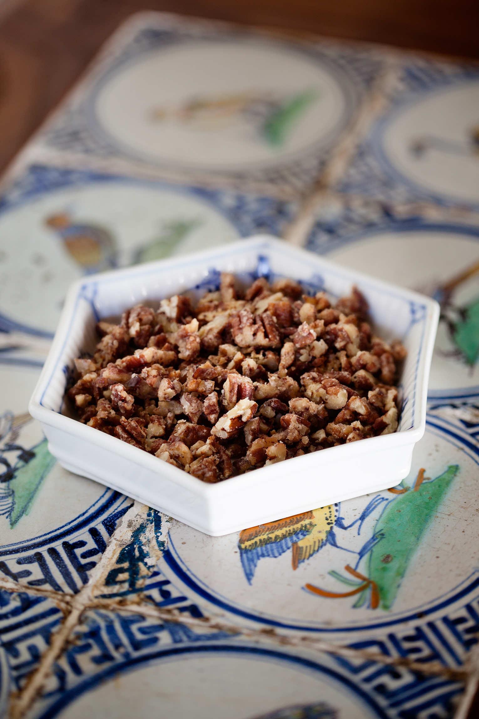Karamelliserade pecannötter