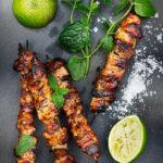 Asiatiska-grillspett