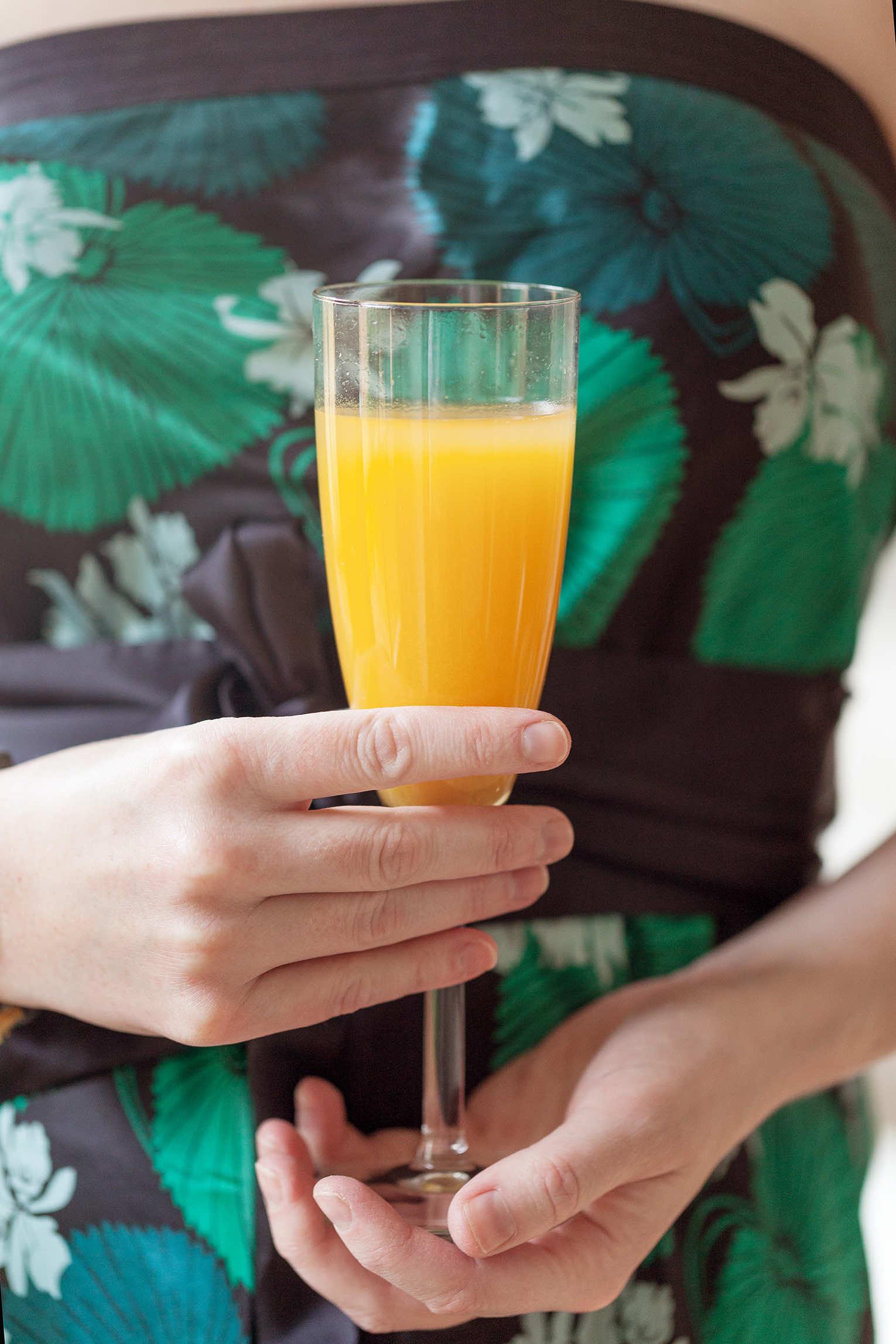 Gul drink påskdrink välkomstdrink fördrink