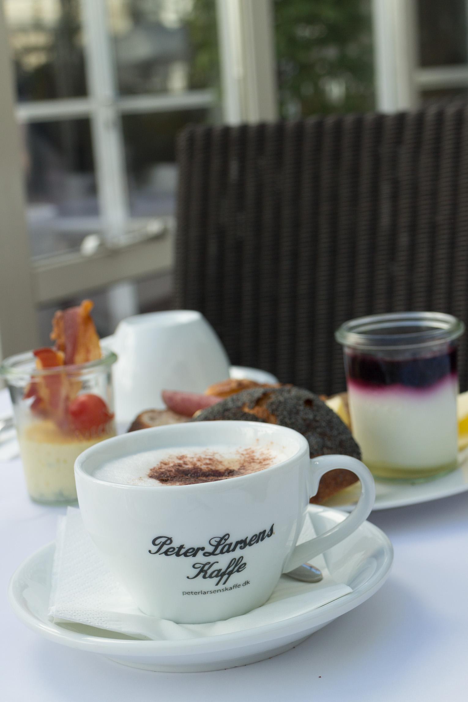 Hotel Kong Artur frukost