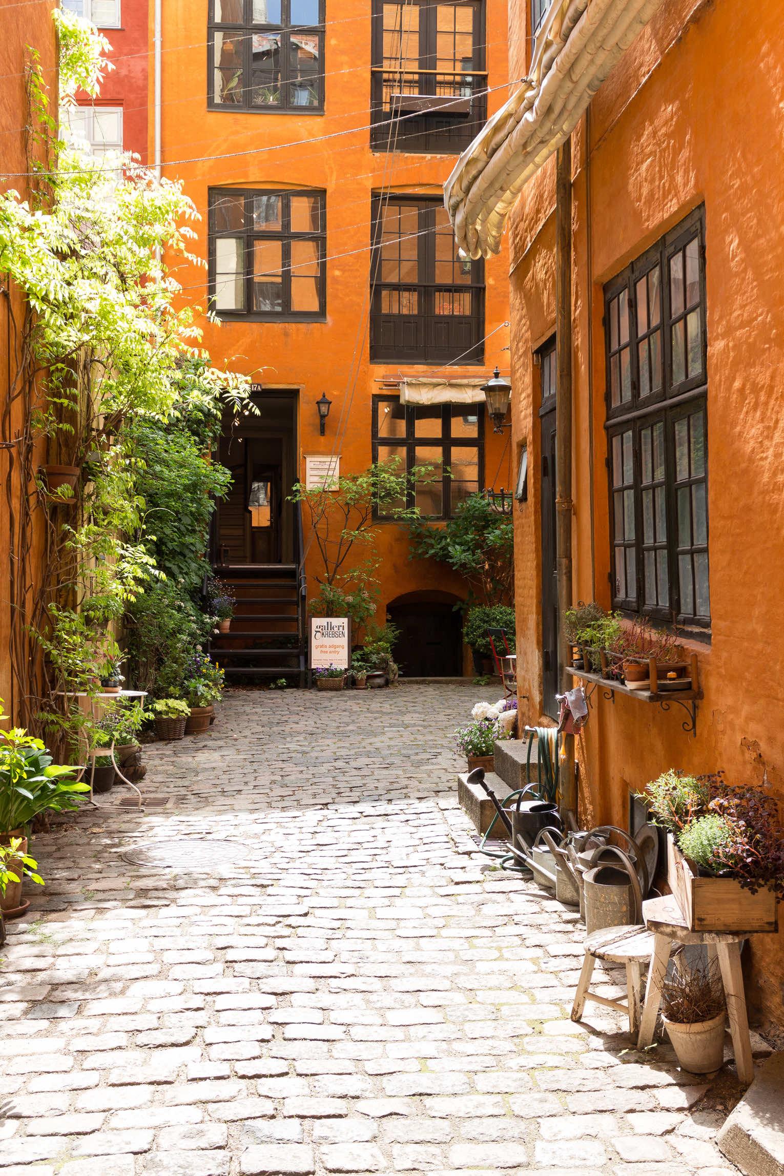 Köpenhamn gamla hus