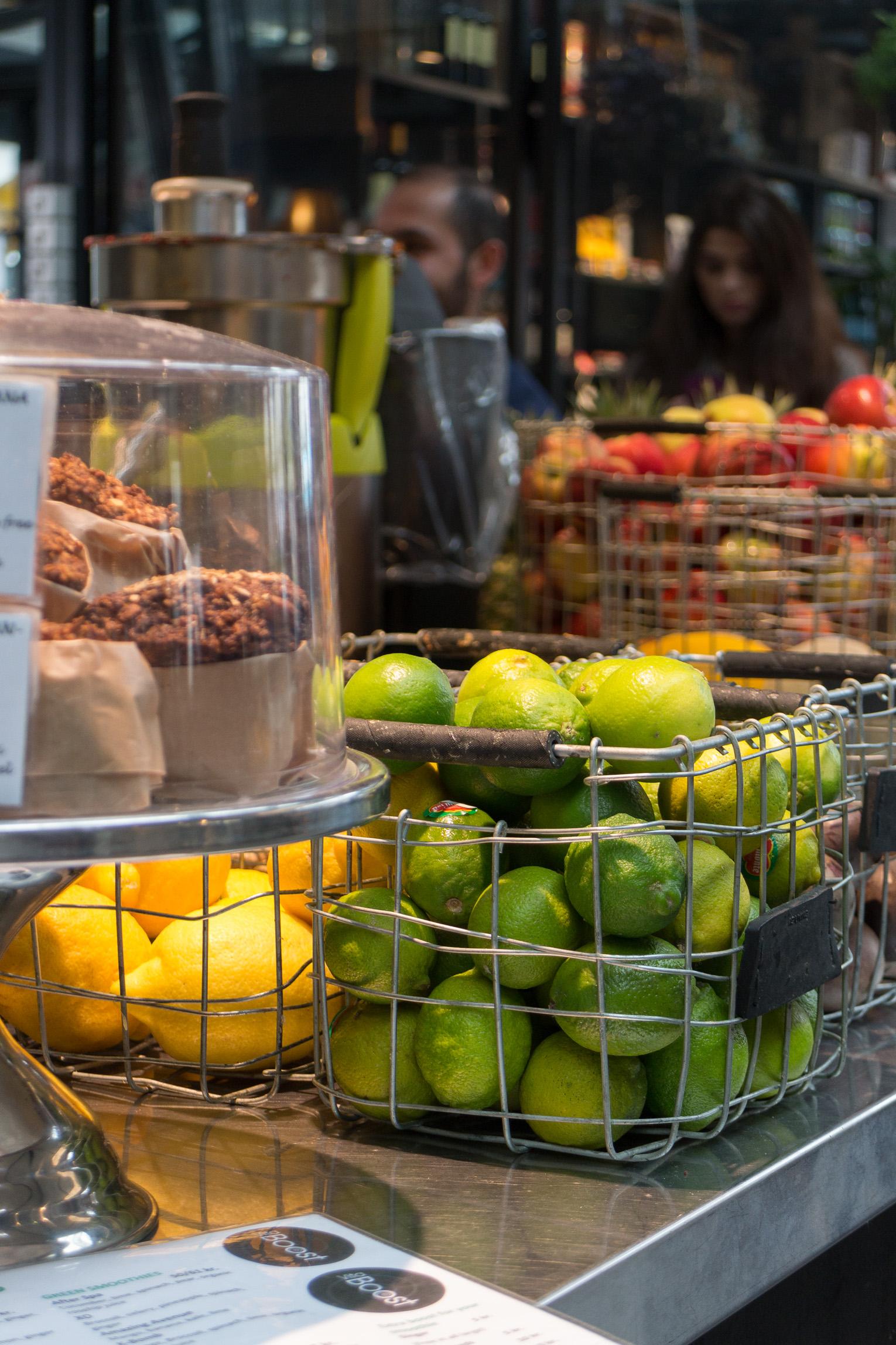 Torvehallerne Köpenhamn frukt