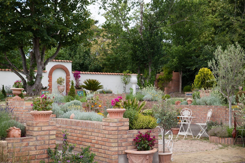 Villa Famiglia italiensk trädgård