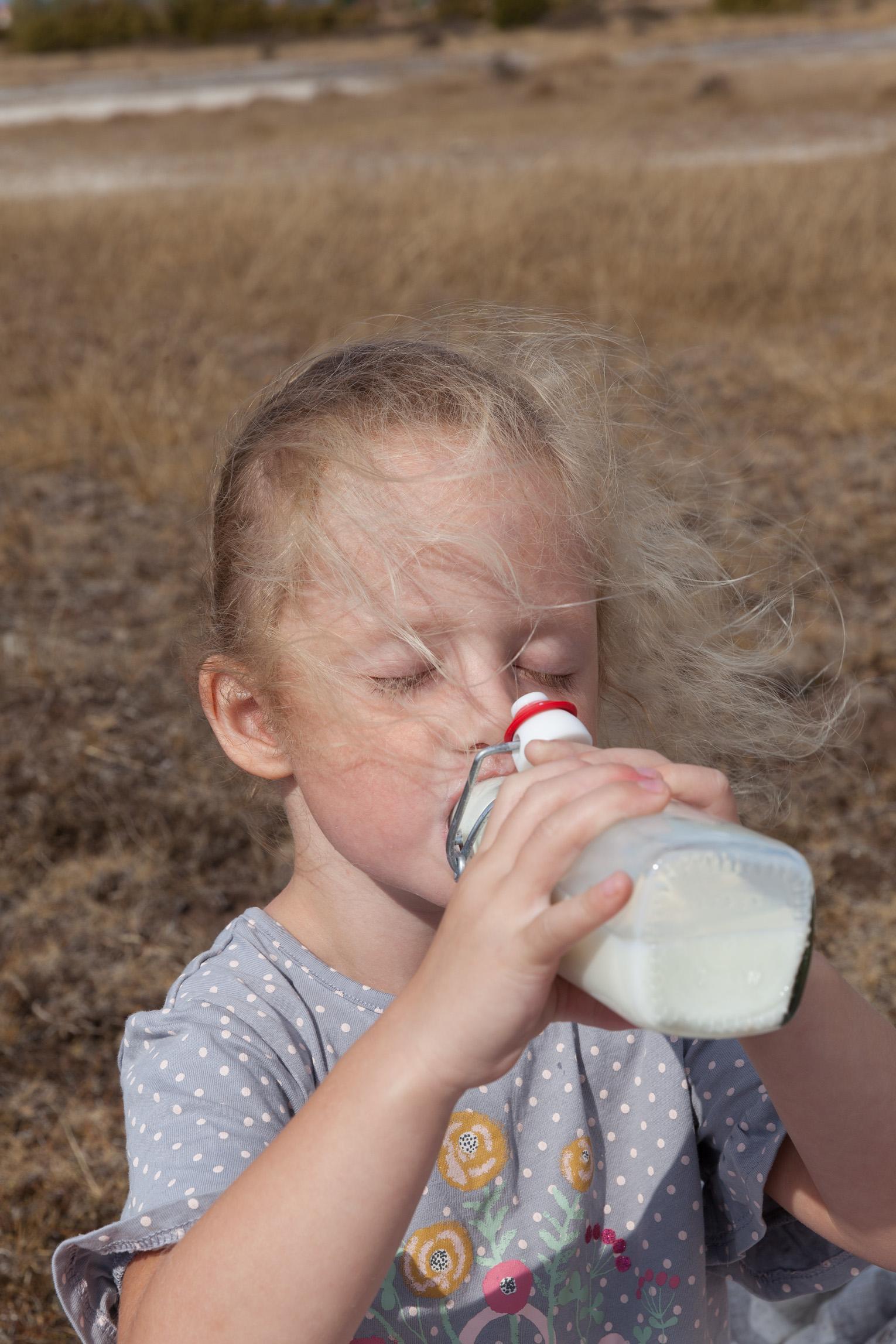 Mjölk barn
