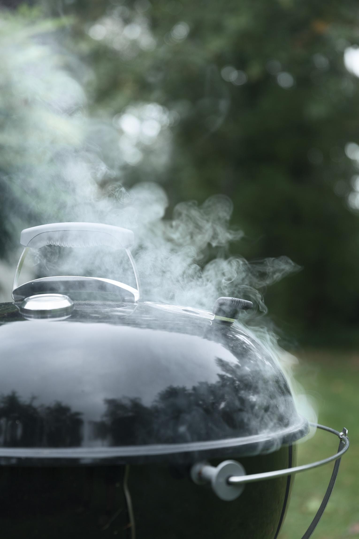 grill weber rök