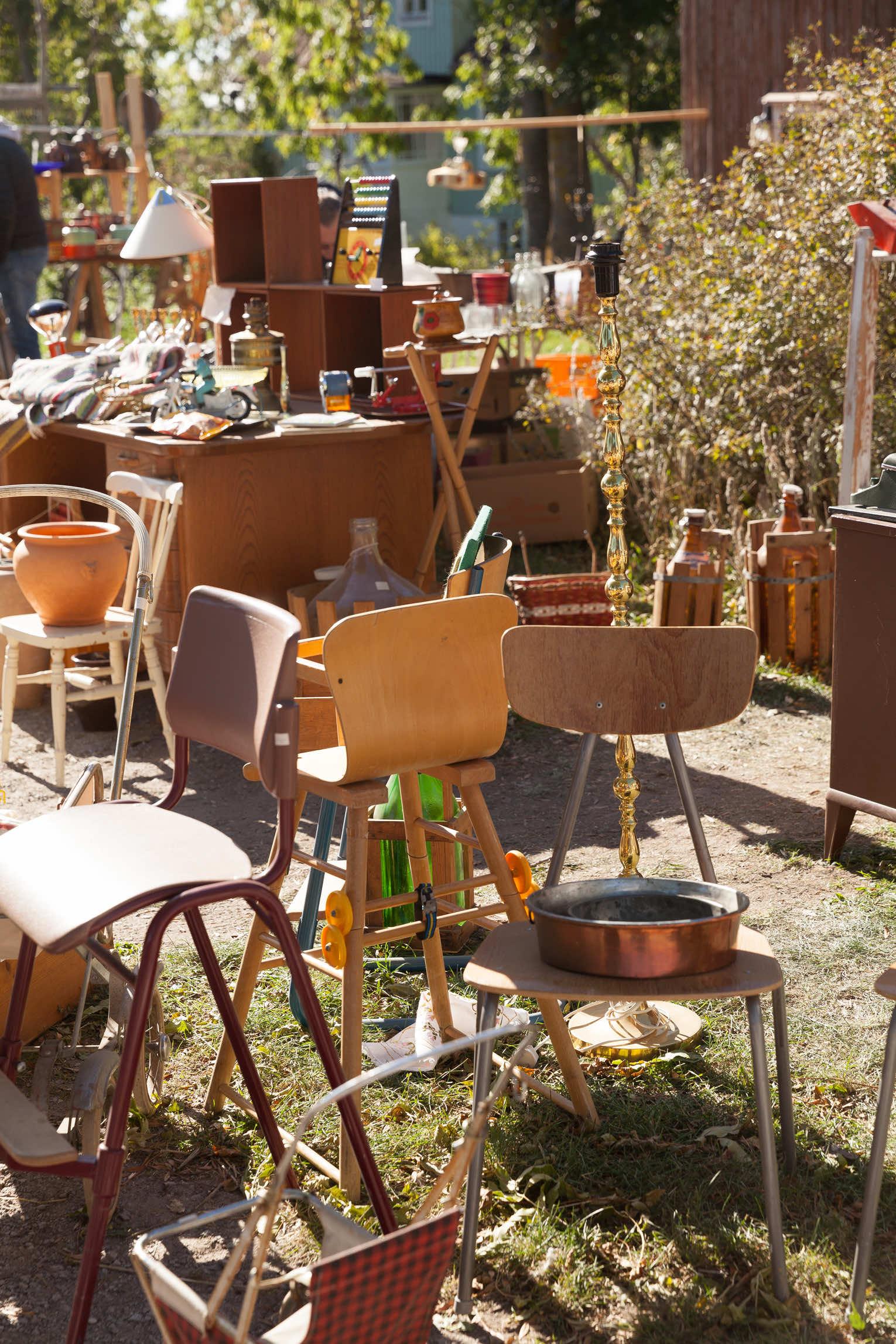 Loppis Ölands skördefest stolar