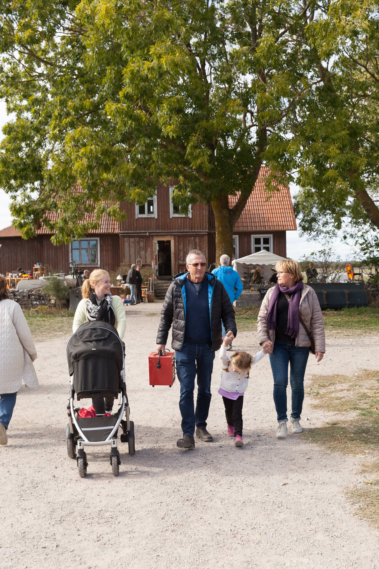 Loppis Ölands skördefest Triberga