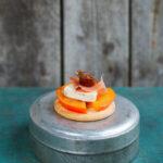 Tilltugg till glögg sharonfrukt ädelost