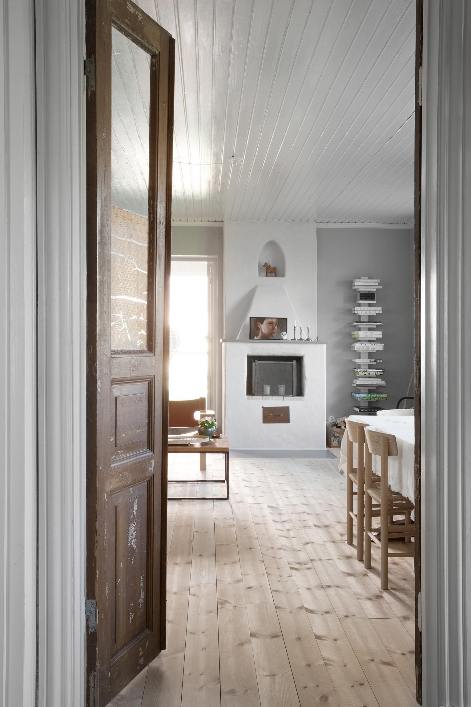 Vardagsrum på Ängö i Kalmar