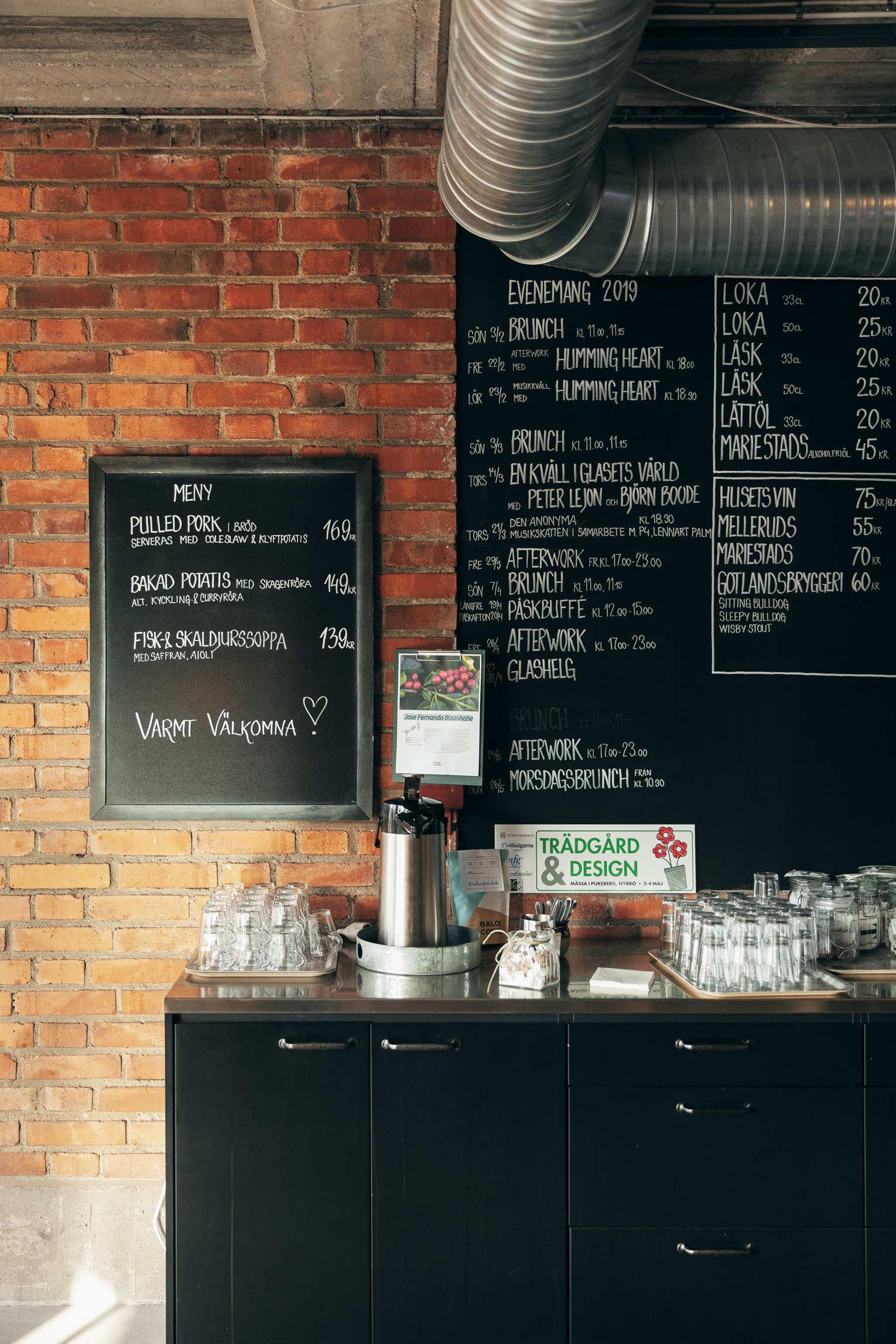 Meny Café hos oss