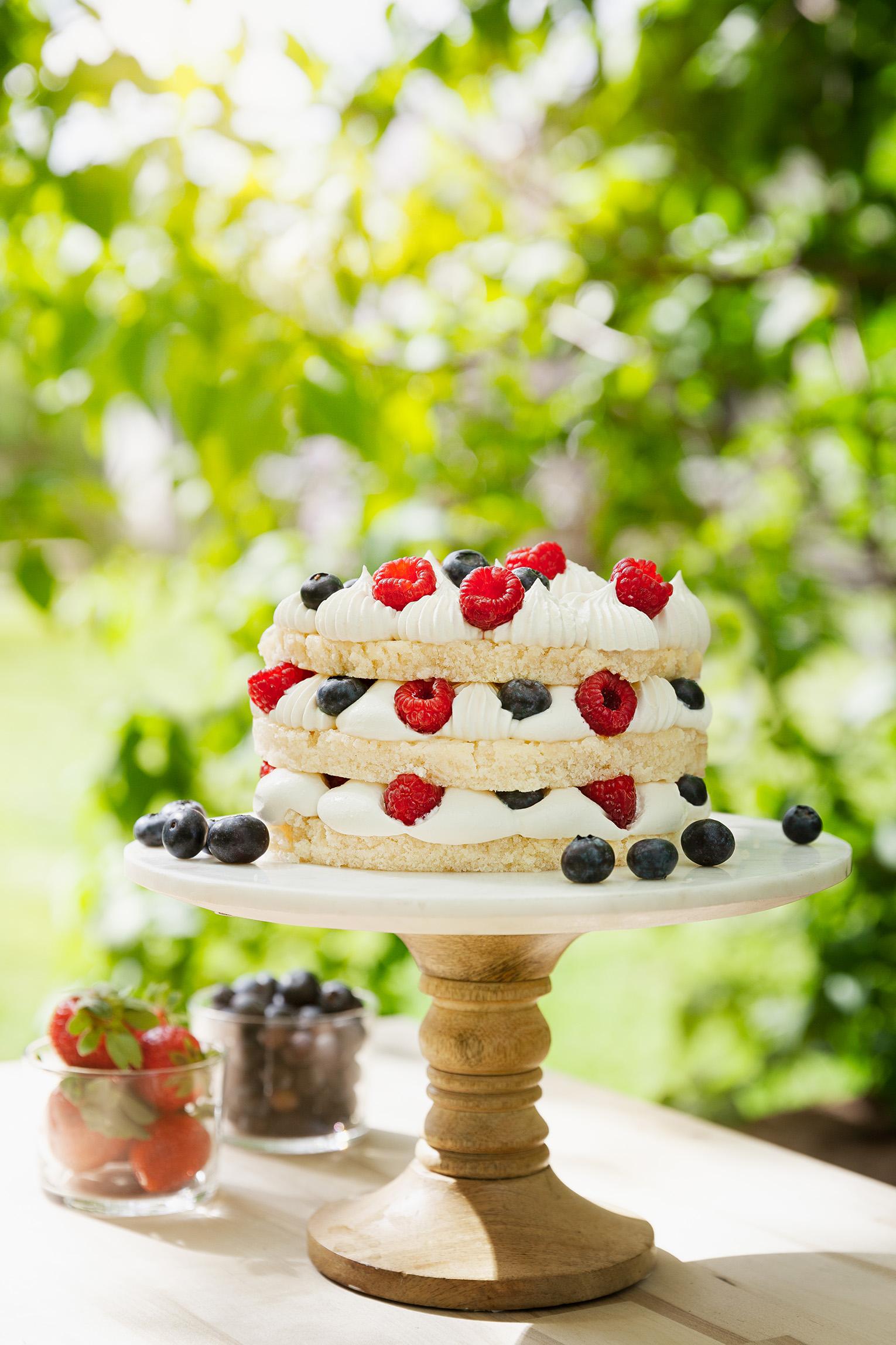 Vegansk tårta