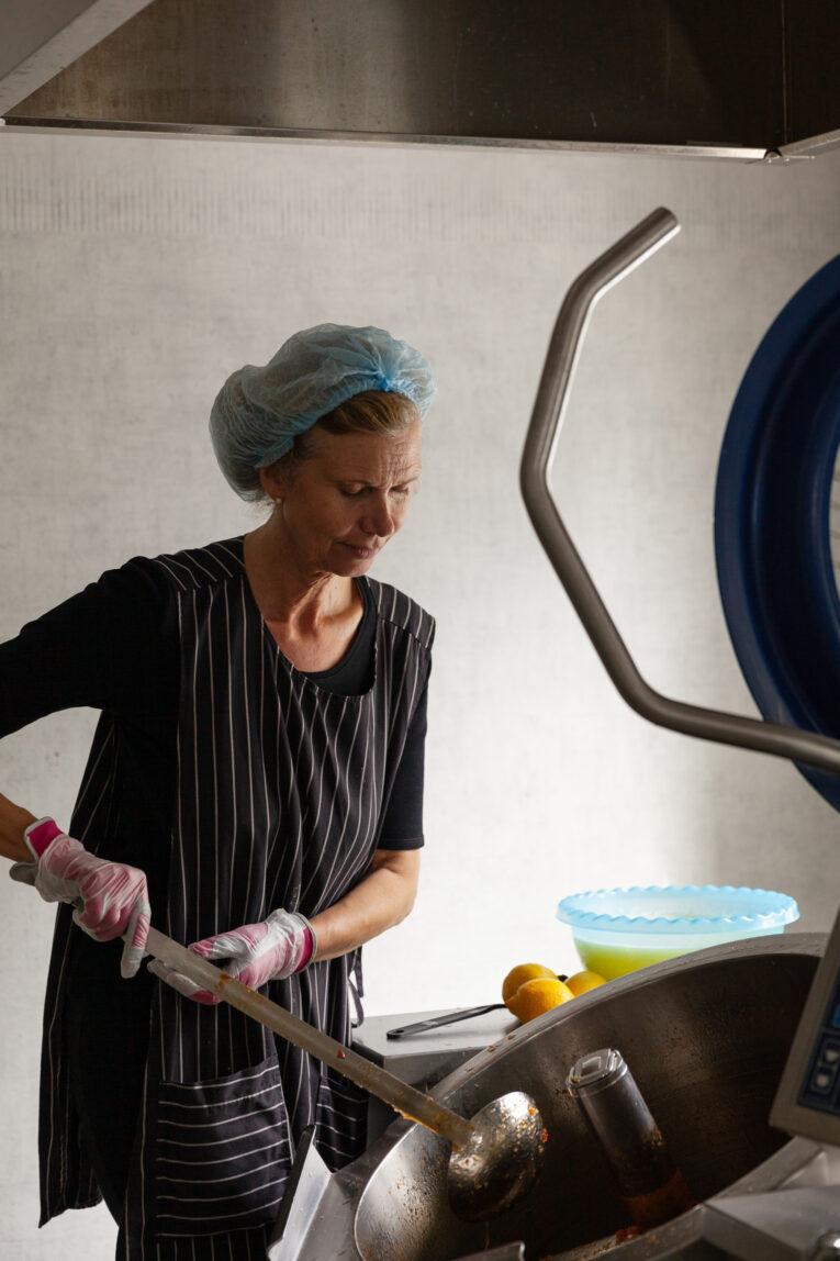 Birgittas Matbod produktion