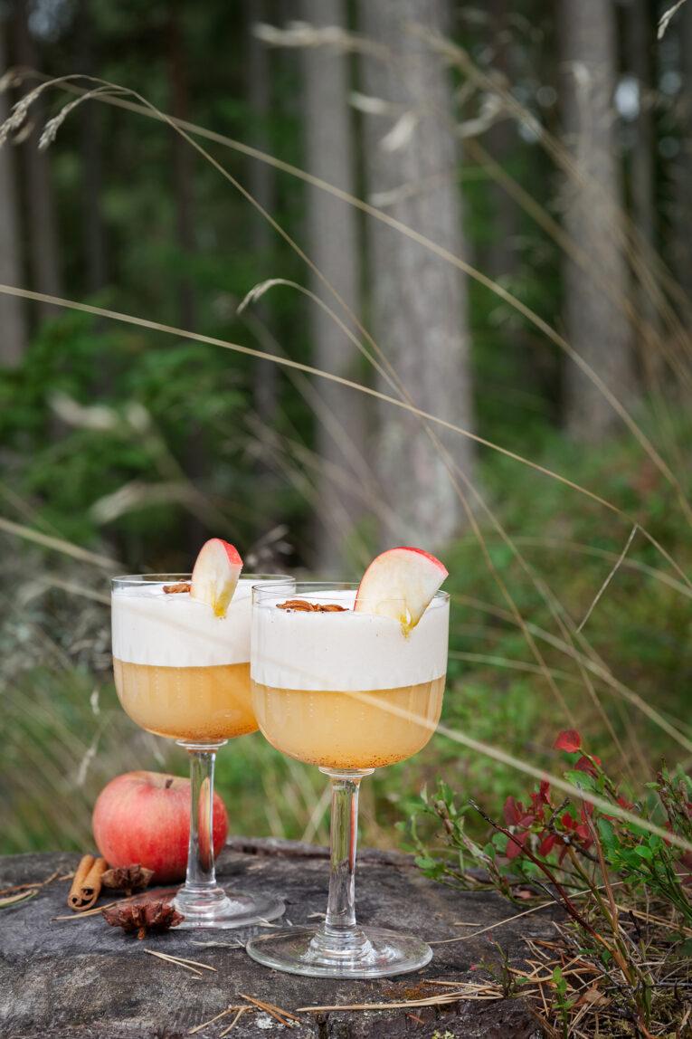 Äppeldrink med gin