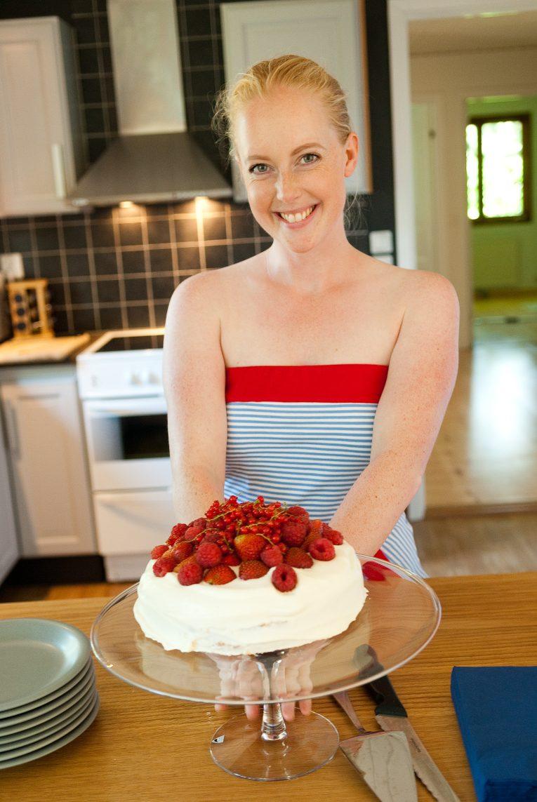 Bara en kaka till första blogginlägget