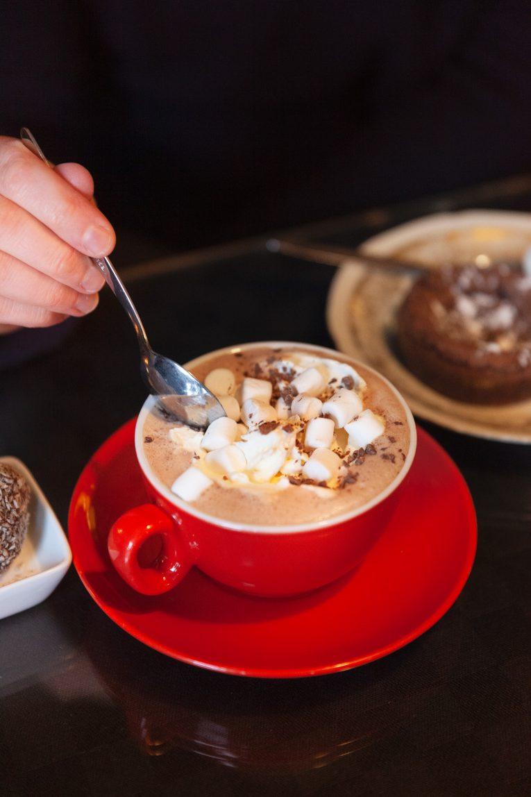 Varm choklad på ÖlandsChoklad