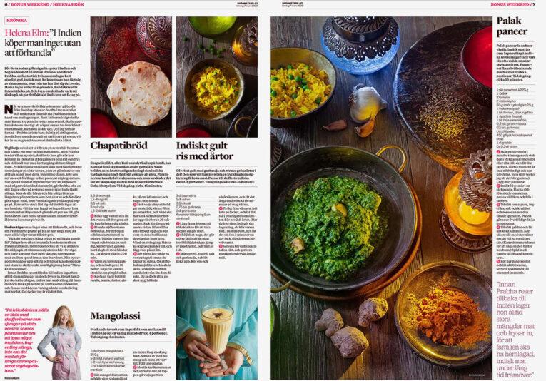 Krönika om indisk mat