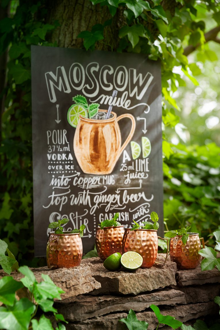 Drinktavla Moscow Mule