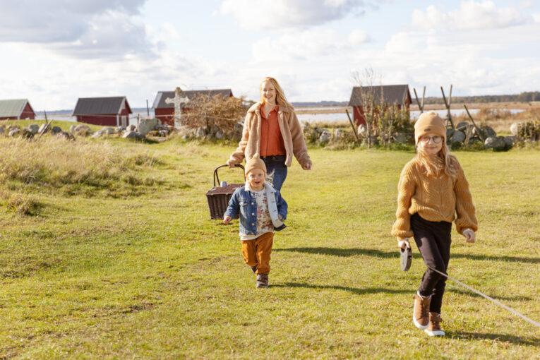 Höstpicknick på Öland