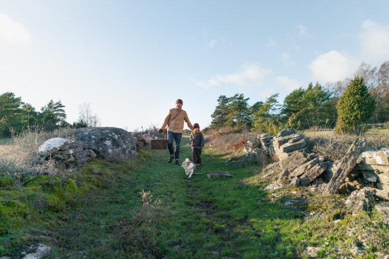 Vinterutflykt till Penåsa ödeby