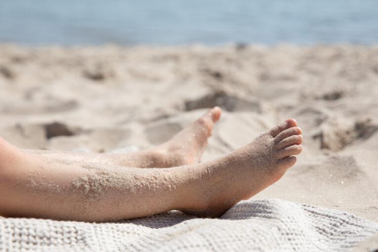 Böda Sand barfota