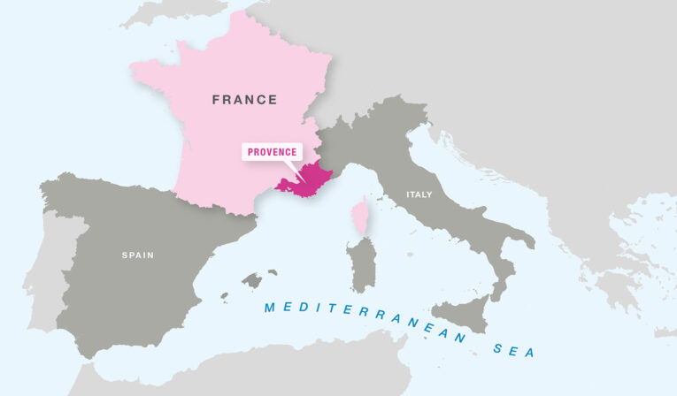 Karta Provence