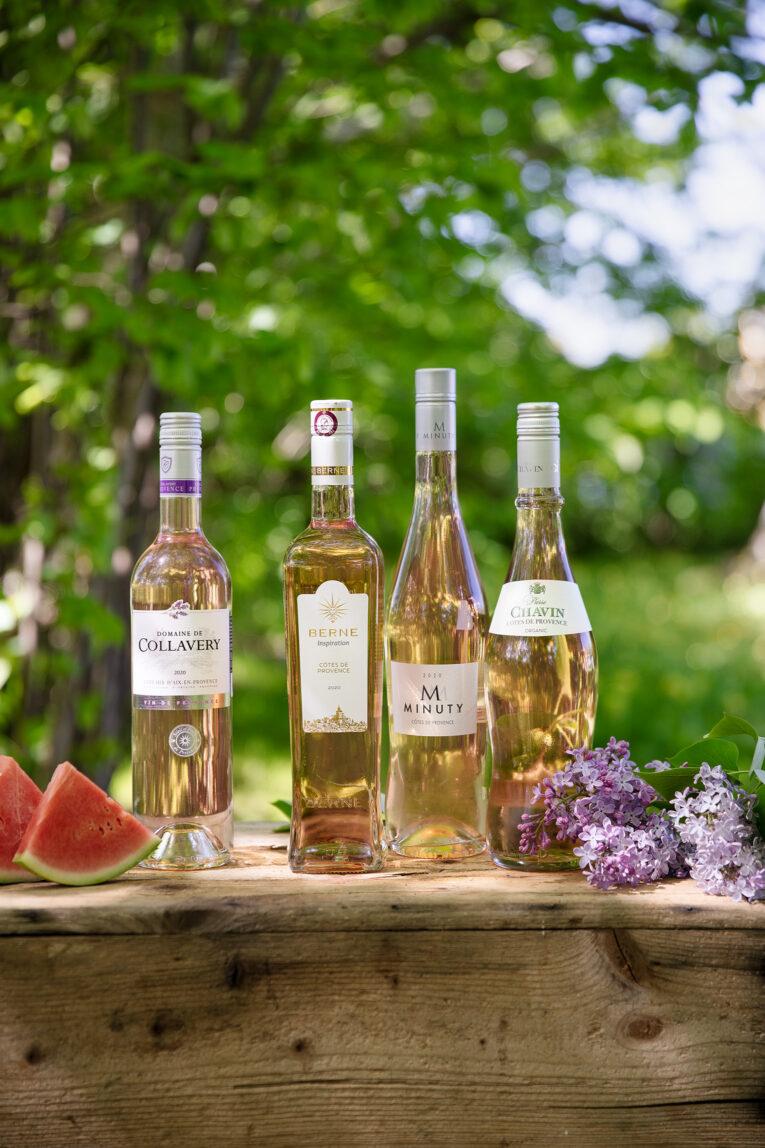 Provence viner rosé