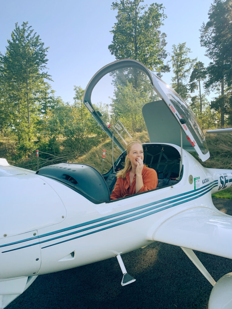 Flyga propellerplan